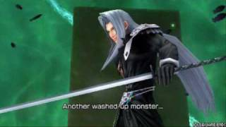Dissidia Final Fantasy: Vs. Sephiroth Intros