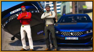 GTA 5 Roleplay - I JOIN FRENCH POLICE OFFICER | RedlineRP