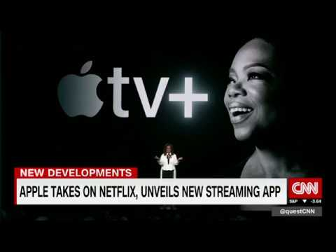 Apple takes on Netflix with new streaming app