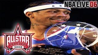 NBA Live 2006 - (Gamecube) - 2006 NBA Allstar Game fea Iverson & Lebron