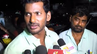 Is that Vishal targets Vijay Fans ? - Vishal Answers | Paayum Puli Single Track Launch