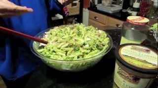 Easy Vegetarian Greek Pasta Toss Recipe