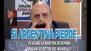 Duro de Domar - Se acabó la mentira de España y Pagani se retira 16-06-10
