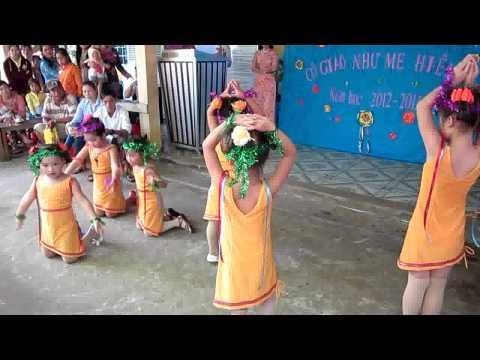 Múa Niềm vui của em cô giáo Thảo Mẫu giáo Long Hữu Duyên Hải Trà Vinh