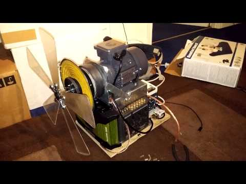 DIY Ultra-low frequency rotary subwoofer: update 1