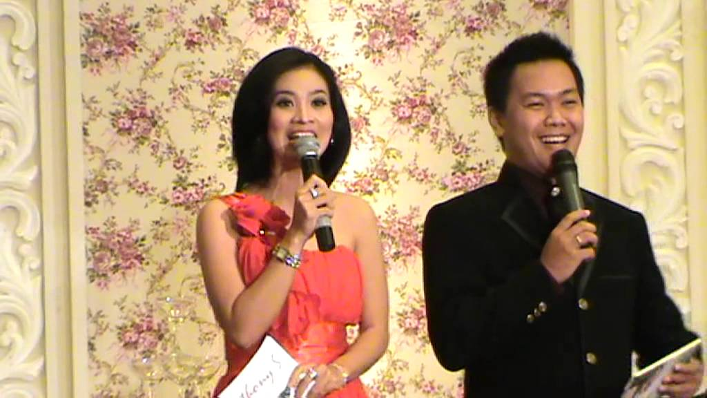 Wedding Master Of Ceremony Yosua Mc Duet With Anne Liu Presenter