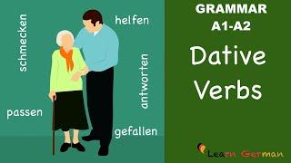 Learn German | German Grammar | Dative verbs | Verben mit Dativ | A1