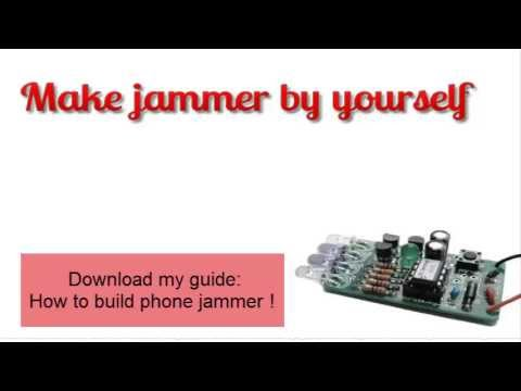 Uas gps jammer with alarm - gps jammer with battery lights etc