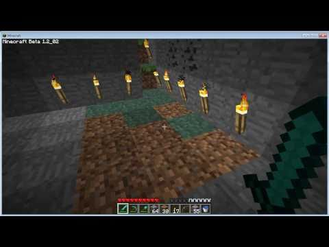 Minecraft Tutorials - 27 - How to Survive & Thrive (Growing Grass Underground)