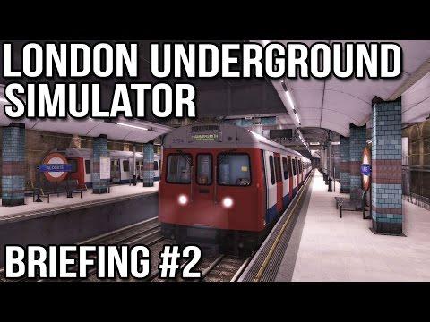 London Underground Simulator - Briefing #2 (World of Subways 3)