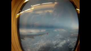 Pioruny widziane z samolotu