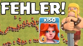 DIESER FEHLER ZERSTÖRT CLASH OF CLANS! || Let