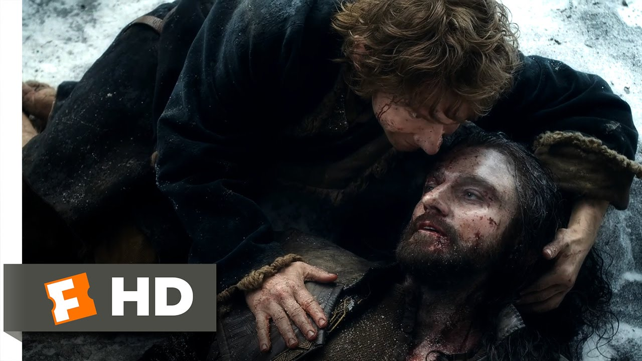 Download The Hobbit: The Battle of the Five Armies - A True Friend Scene (10/10)   Movieclips