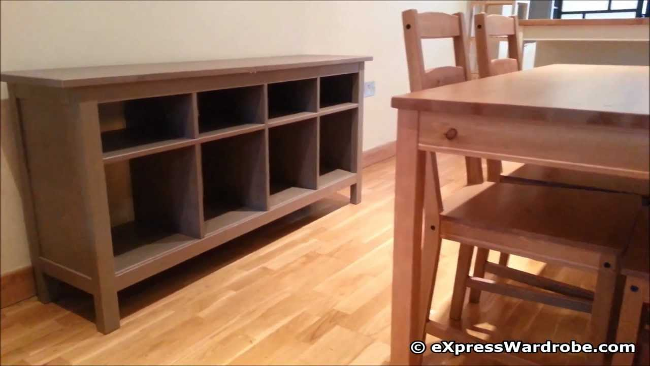 IKEA Hemnes Furniture Bed Wardrobe Console Table Shelving Unit TV Bench Design  YouTube