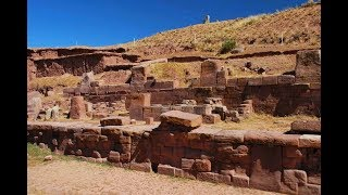 Tiwanaku archaeological site in Bolivia