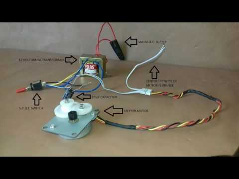 HACKED: Unipolar Stepper Motor Without Driver!