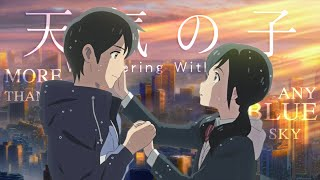 Download lagu Weathering with you   Best scenes