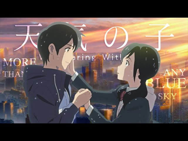Weathering With You Best Scenes Youtube