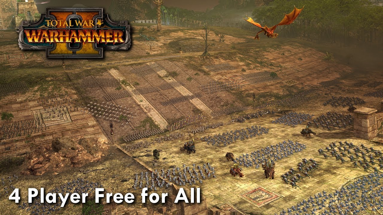 Total War Warhammer 2 - 4 PLAYER FREE FOR ALL!