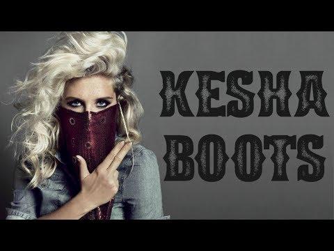 Kesha - Boots (lyrics on screen)