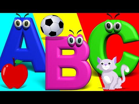 The Big Phonics Song | Phonics Letter Song A-Z | Nursery Rhymes For Children