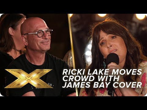 Ricki Lake moves the crowd with her James Bay cover   X Factor: Celebrity