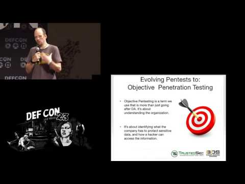 DEF CON 23 - Geoff Walton and Dave Kennedy - Pivoting Without Rights: Introducing Pivoter