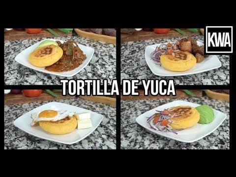 TORTILLA DE YUCA