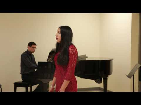 """13 Year Old Sings """"Quando me'n'vo"""" by G. Puccini"""