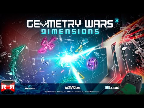 Geometry Wars 3: Dimensions (By Activision Publishing) - iOS Metal Support Gameplay Video