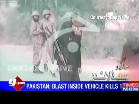 Taliban bombing kills several troops in Pakistan 19.01.2014