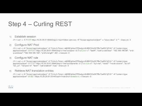 REST API Service Container Installation and Deployment on ASR 1000