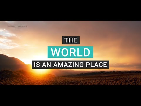 World Tourism Day - The world is an amazing place