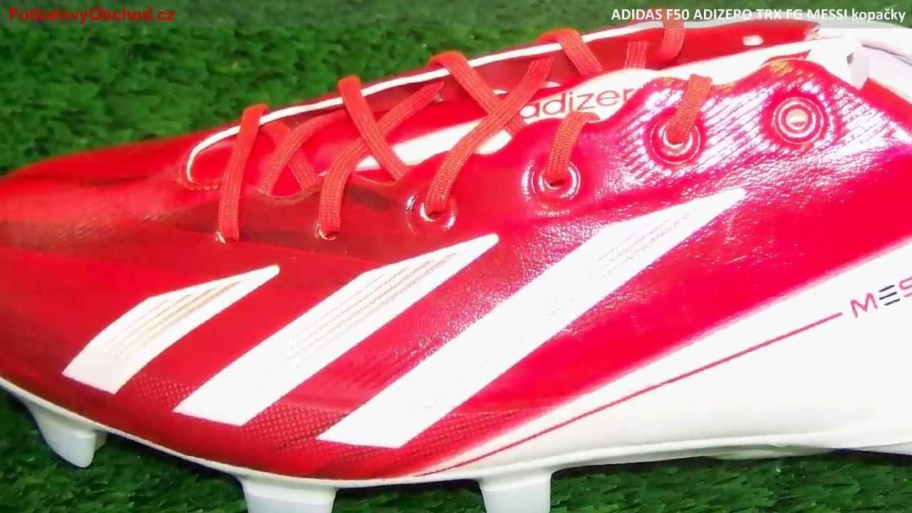 Adidas F50 Adizero Trx Fg Messi Youtube