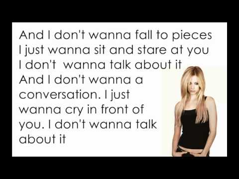 Avril Lavigne - Fall to Pieces [Lyrics/Letra]