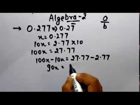 Recurring to Fraction Trick tutorial