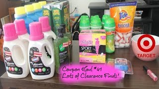 Coupon Haul #41- Awesome Clearance Finds!