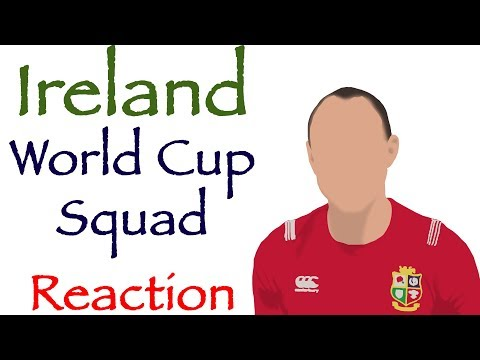 IRELAND | World Cup 2019 Squad | REACTION | OUT OF TONER!