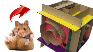 Cute Hamster Jerry in 3D Cube Maze