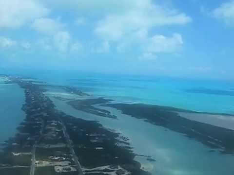 Landing in Provodenciales, Turks and Caicos @ PLS