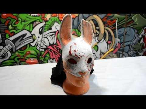 Как сделать маску Анны из dbd How to make Anna's mask from Dead By Daylight