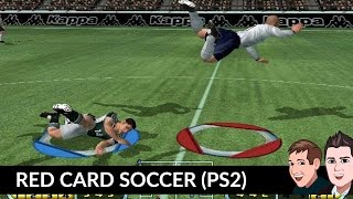 Red Card Soccer (PS2) Gameplay England vs Germany