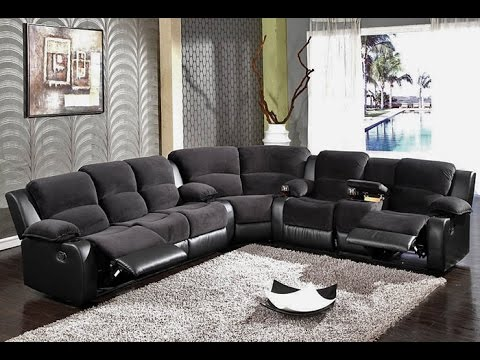 Beau Sectional Sofas With Recliners