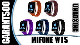 Mifone W15 Распаковка смарт часов из tinydeal.com(Симпатичные часы с приятным ремешком и 2.5D стеклом Купить можно тут http://bit.ly/1BGelrd Купон на скидку RUSWSale до..., 2015-06-26T10:00:00.000Z)