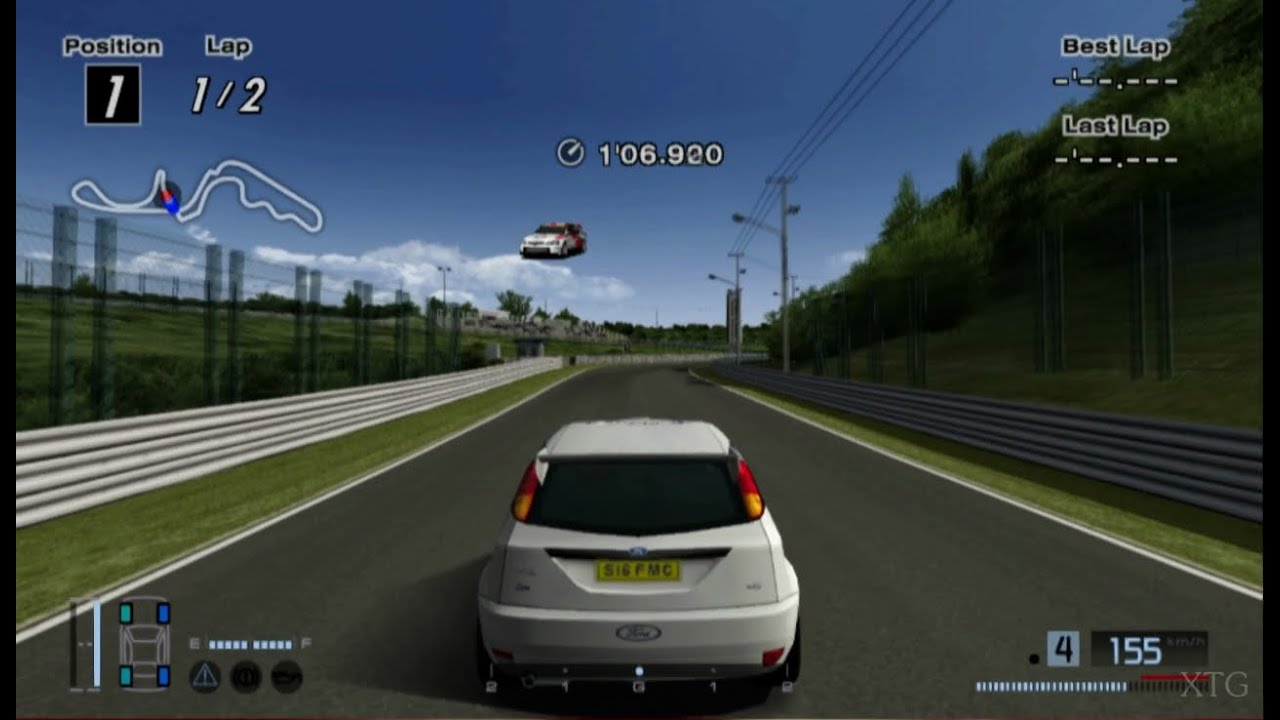 Ford Focus Rally Car HD PS2