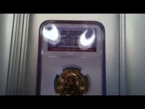 George Washington Presidental Dollar