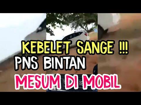 Tak Sanggup Menahan Sange, PNS Bintan Mesum Di Mobil, Terekam Warga Lagi Telanjang