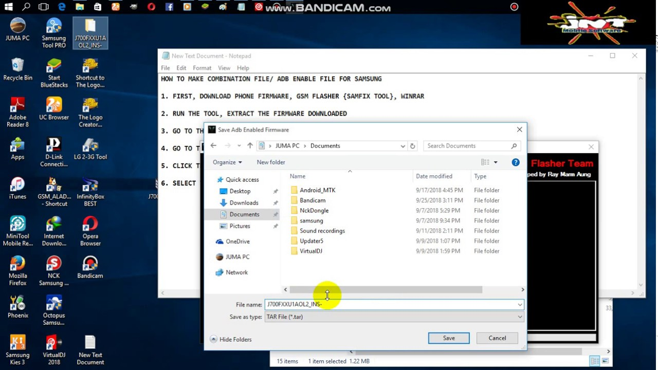 How To Make Adb boot File From Combination Firmware using