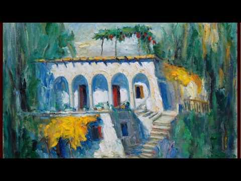 Artist painter and poet Joseph Matar - Slide and paintings presentation - Lebanon Art