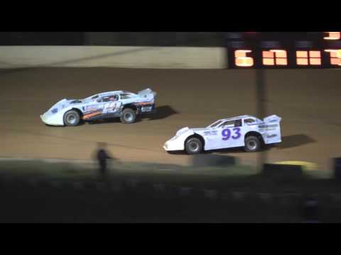 Pro Late Model Heat #2 from Ponderosa Speedway, September 30, 2016.